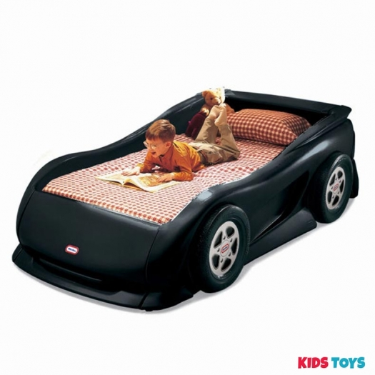 Black Sports Car Twin Bed