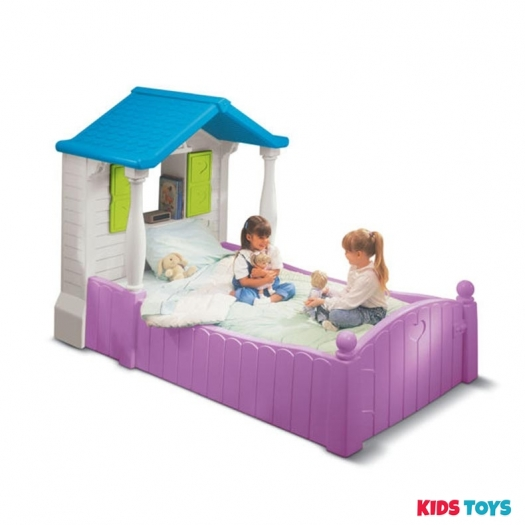 Purple Storybook Cottage™ Twin Bed